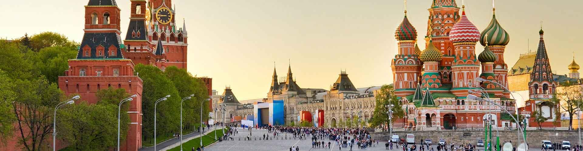Moscou – Hostels em Moscou. Mapas para Moscou, Fotos e Avaliações para cada Hostels em Moscou.