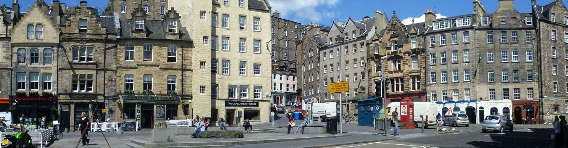 Edimburgo – Hostels no bairro de O Grassmarket . Mapas para Edimburgo, Fotos e Avaliações para cada Hostel em Edimburgo.