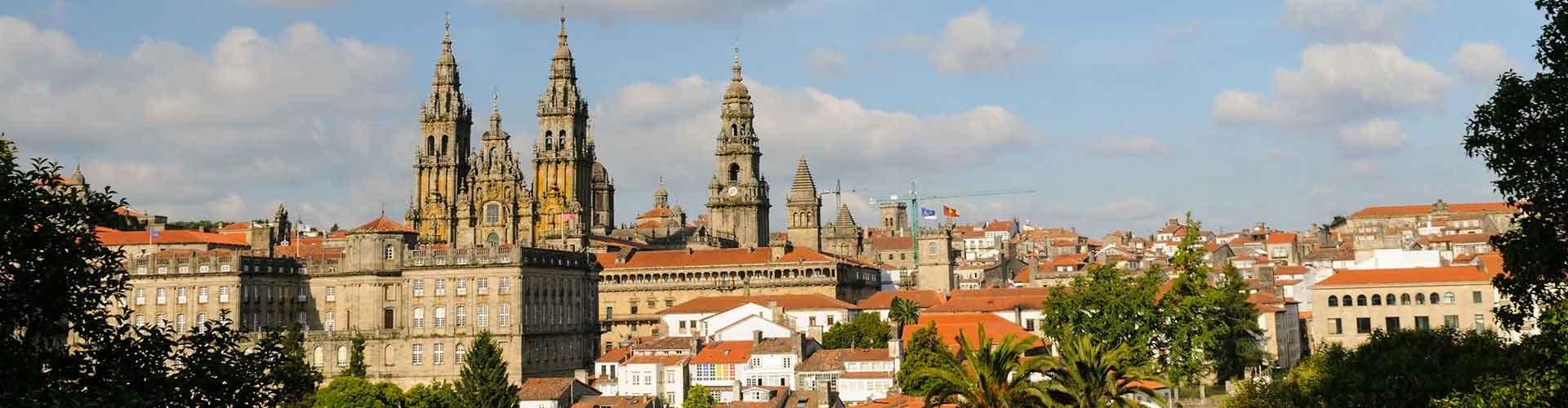 Santiago de Compostela – Hostéis em Santiago de Compostela. Mapas para Santiago de Compostela, Fotos e Avaliações de cada Hostel Santiago de Compostela.