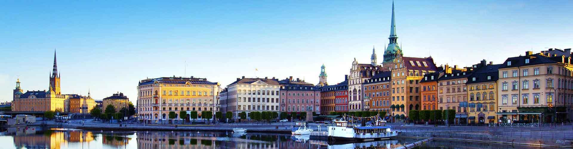 Estocolmo – Hostels em Estocolmo. Mapas para Estocolmo, Fotos e Avaliações para cada Hostels em Estocolmo.