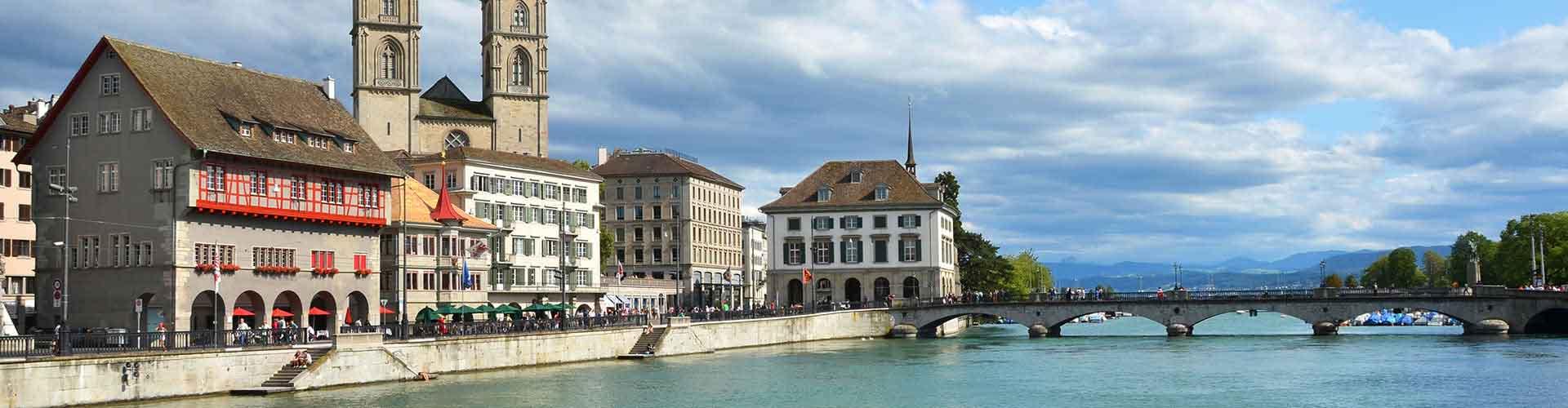 Zurique – Albergues em Zurique. Mapas para Zurique, Fotos e Avaliações para cada Albergue em Zurique.
