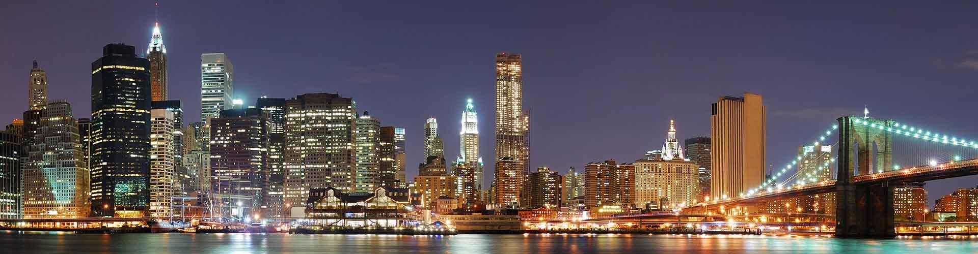Nova Iorque – Albergues em Nova Iorque. Mapas para Nova Iorque, Fotos e Avaliações para cada Albergue em Nova Iorque.