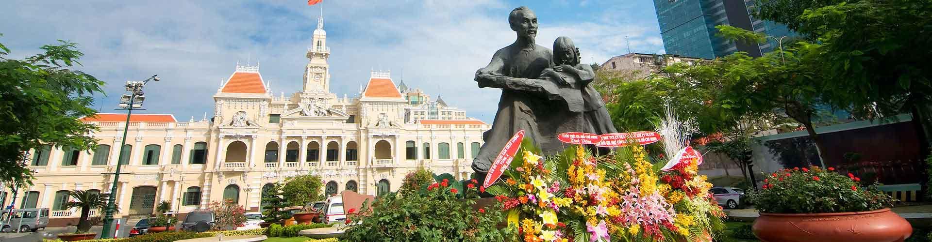 Cidade de Ho Chi Minh – Hostels em Cidade de Ho Chi Minh. Mapas para Cidade de Ho Chi Minh, Fotos e Avaliações para cada Hostels em Cidade de Ho Chi Minh.