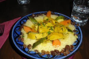 Couscous au café Tribal