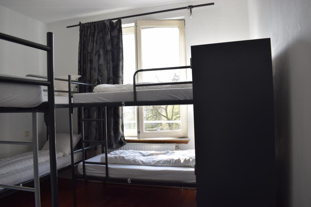 Dormitório Compartilhado com 4 Camas