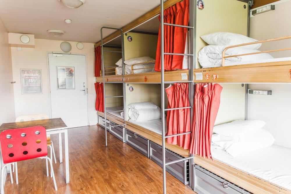 6 camas modulares
