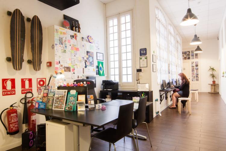 360 Hostel Arts&Culture; Recepção