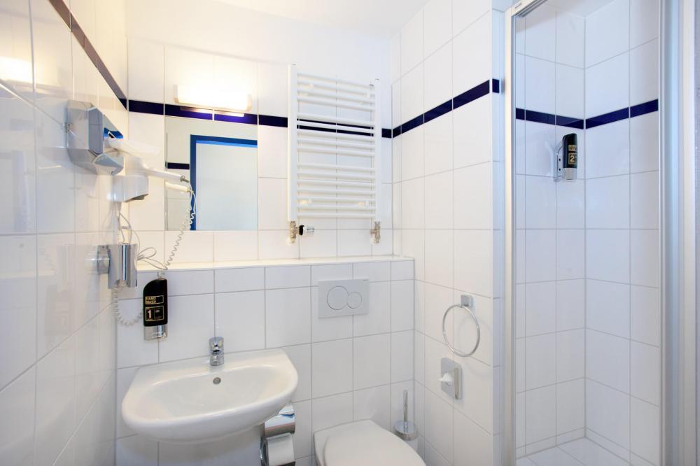 Banheiro/Chuveiro do A&O München HB