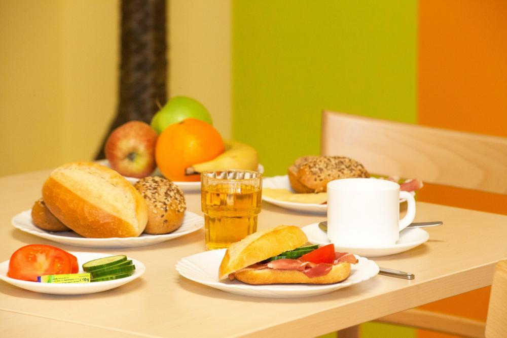 Café-da-manhã A&O München Laim Hostel