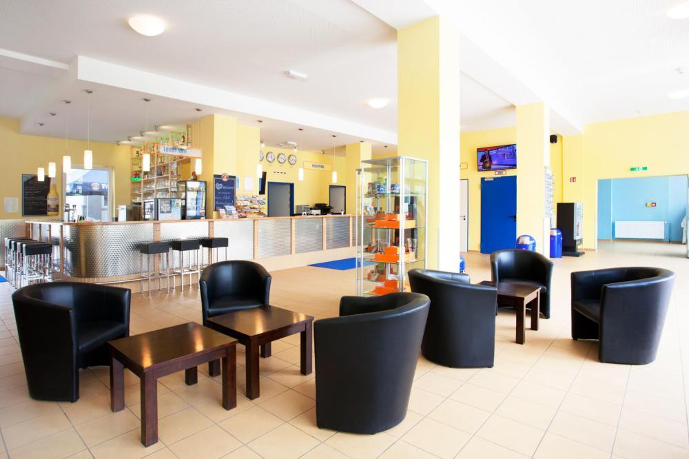 Lobby A&O München Laim Hostel