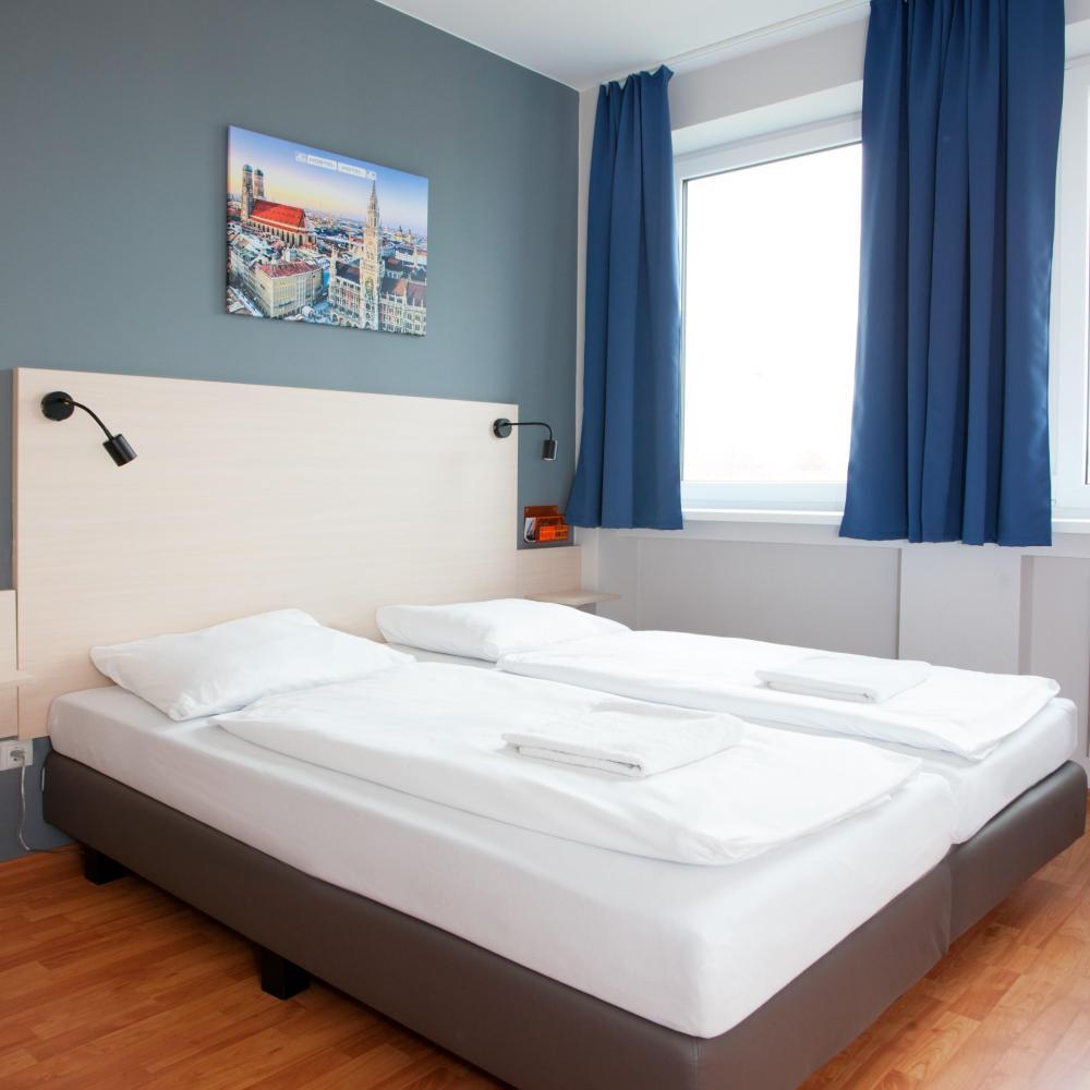 Quarto duplo A&O München Laim Hostel