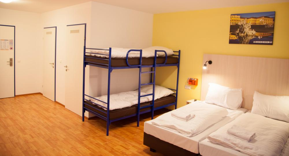 Quarto Familiar no A&O Wien HB Hostel