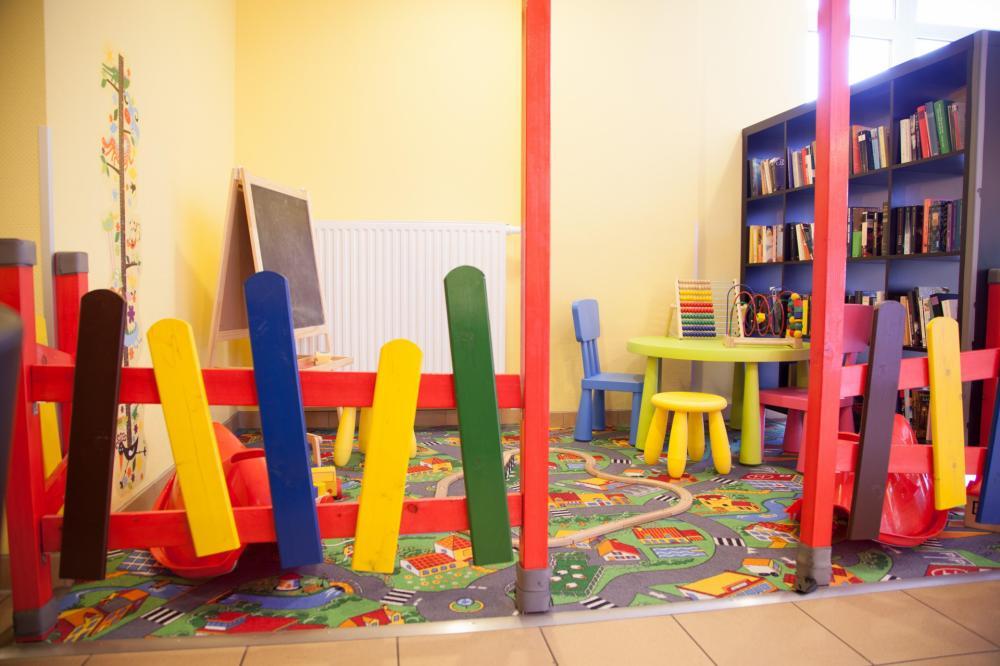 Área Infantil no A&O Wien HB Hostel