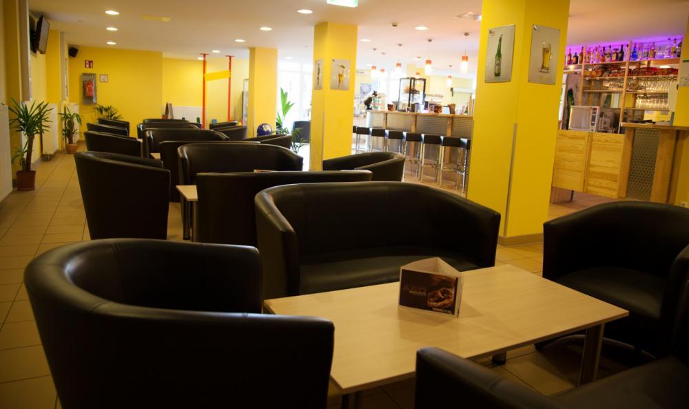 Lobby no A&O Wien HB Hostel