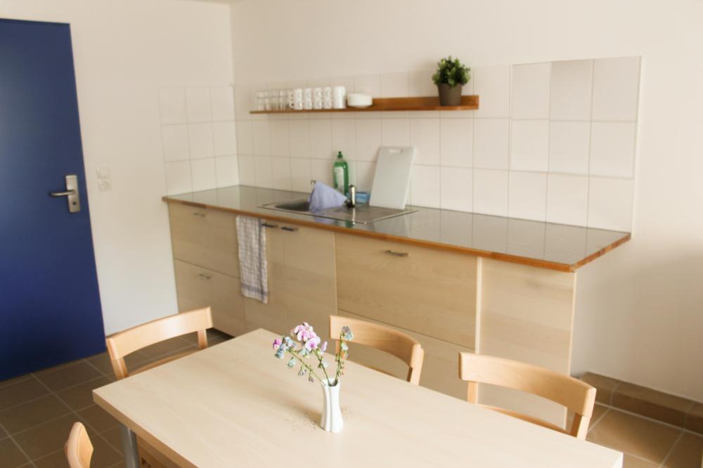 Cozinha de Hóspede no A&O Wien Stadthalle Hostel