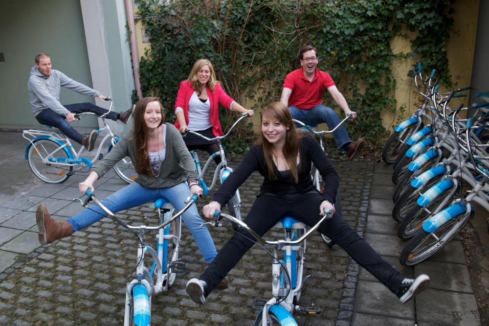 Descubra Munique de bicicleta