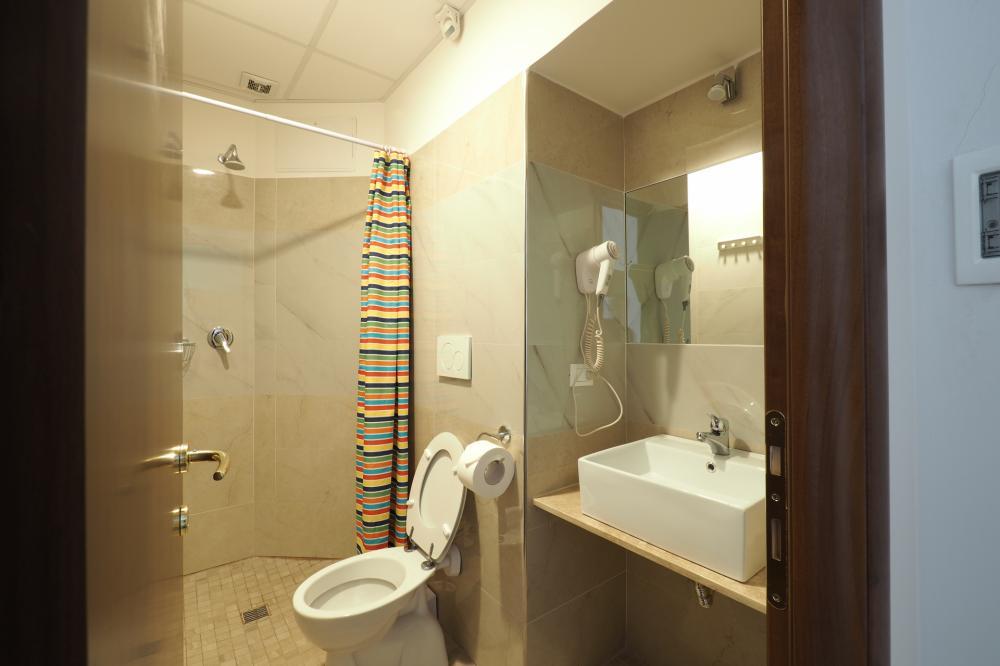 Quarto duplo com banheiro