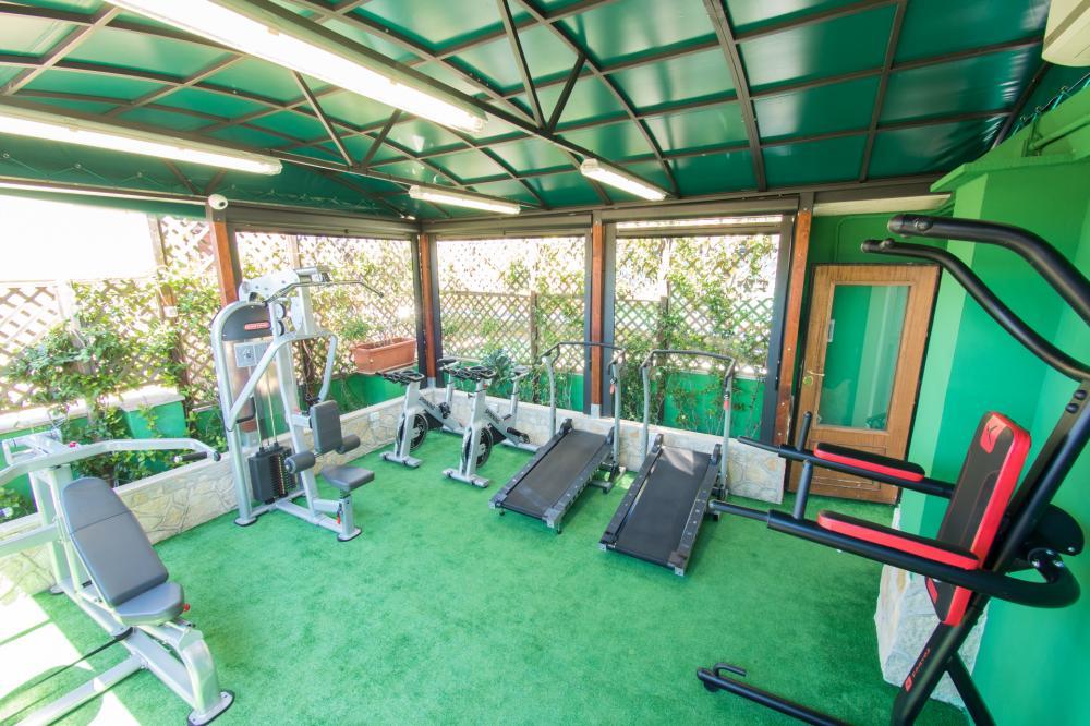 Sala de fitness (grátis)