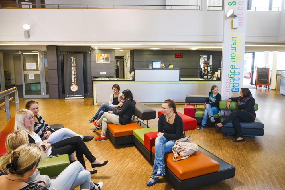 Recepção HI Munich Park Hostel