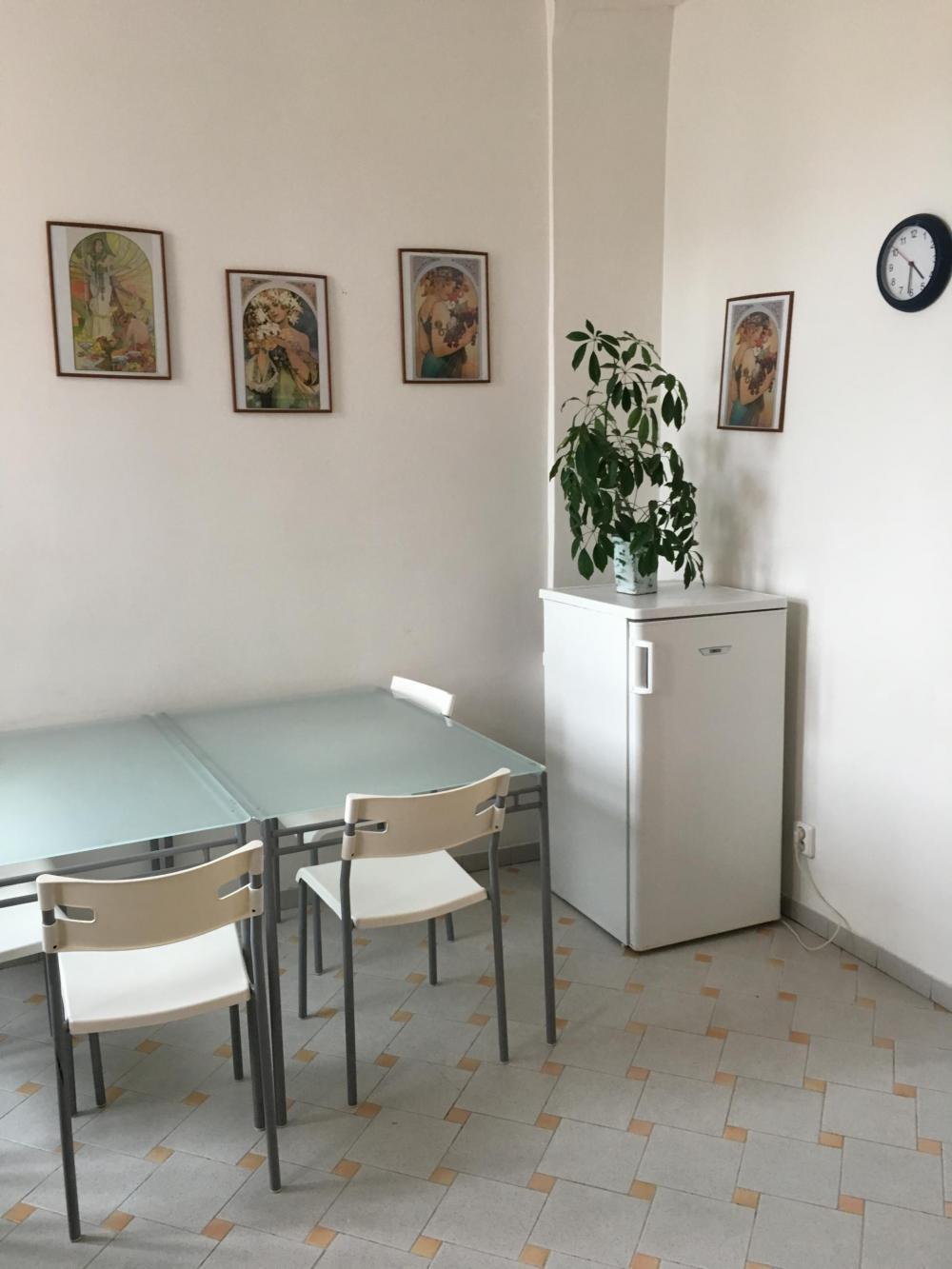 Cozinha dos dormitórios