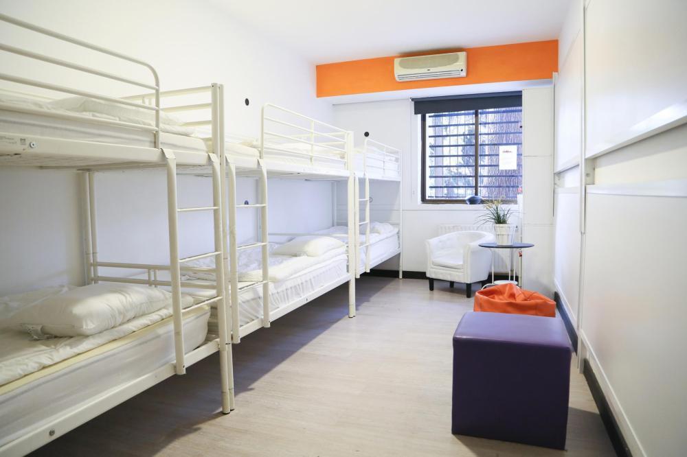Dormitório virado para o Palácio Real
