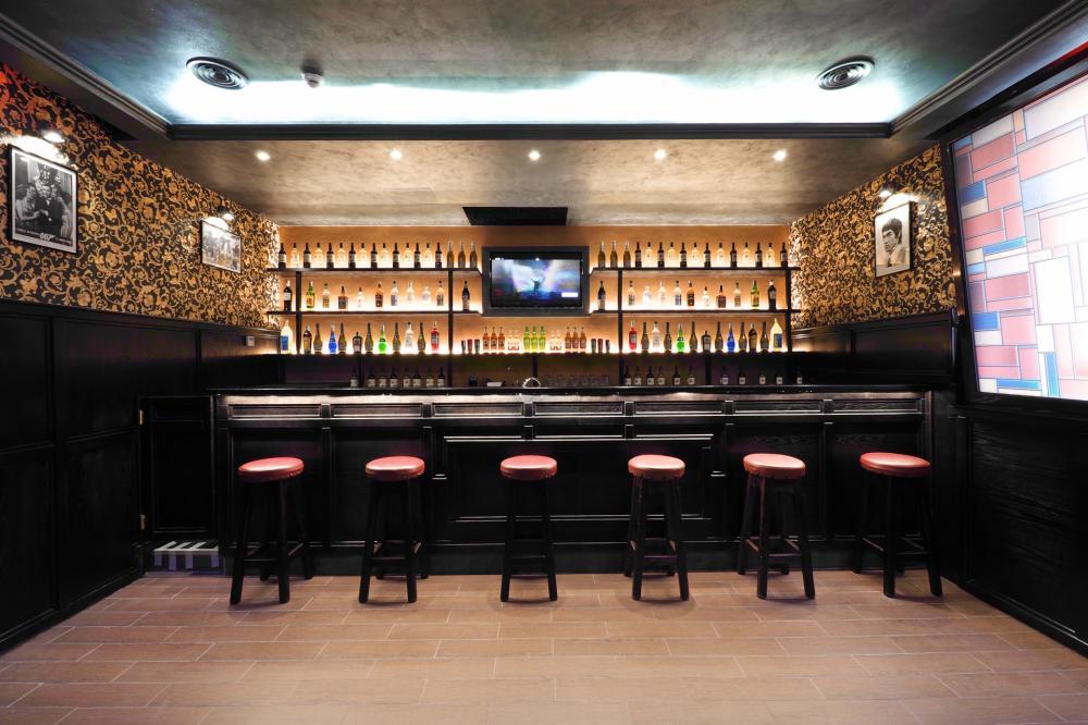 Bar no próprio hostel