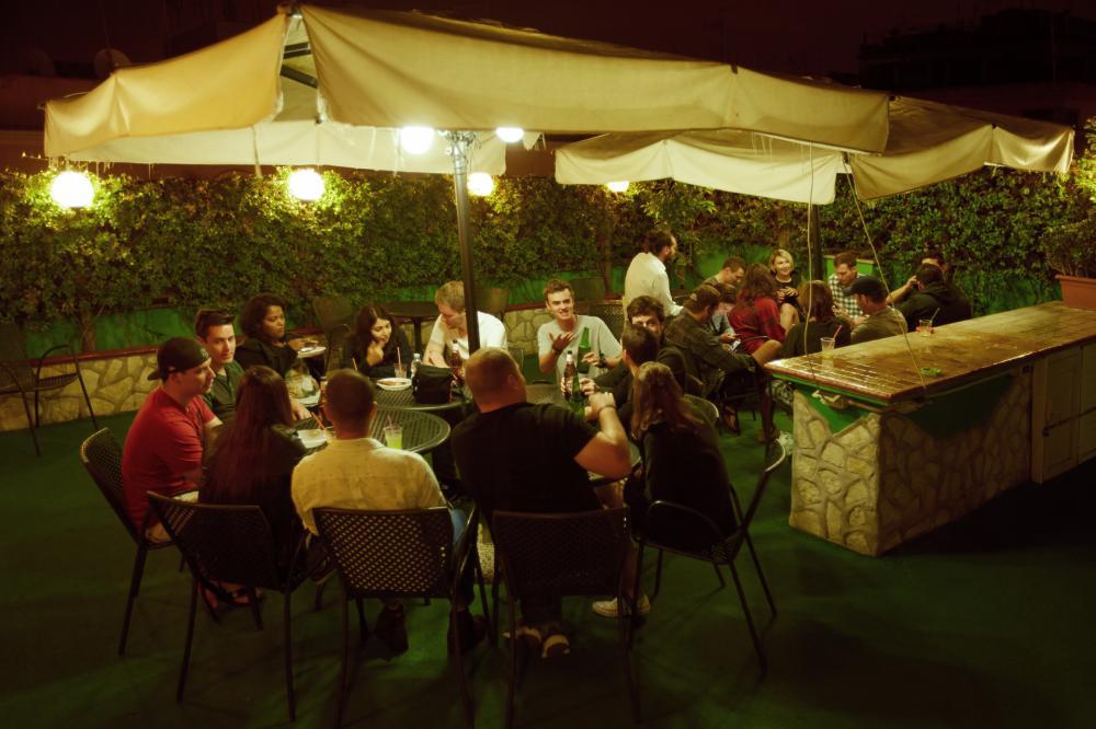 Terraço na Cobertura & Bar (no verão)