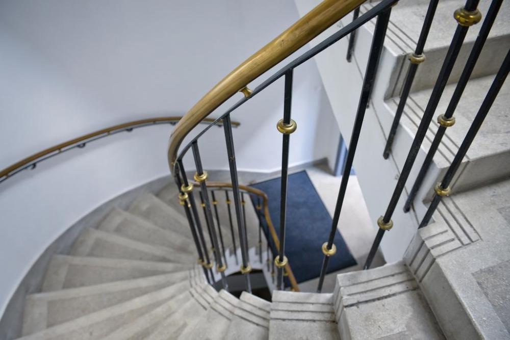 Tem escadas para entrar