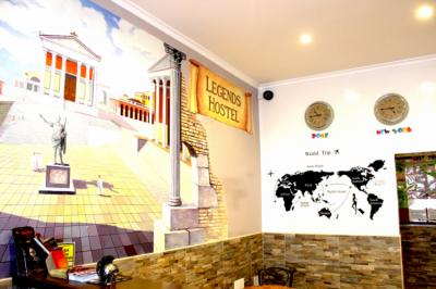 Hostels e Albergues - Legends Hostel Rome