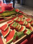 Frutas disponíveis no café da manhã