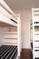 Dormitório masculino 4 camas
